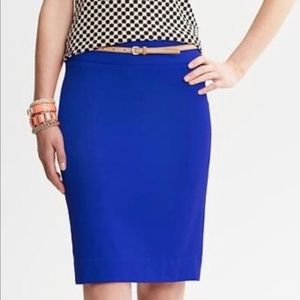 ⚡️💙Blue Pencil Skirt